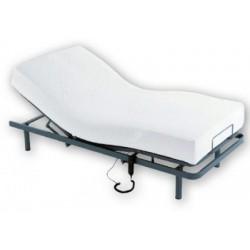 Lote cama articulada + colchón viscoeastico
